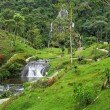 Waterfalls at SantRosde Cabal, Colombia — Stock Photo #16074961