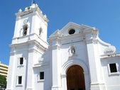 Cathedral of Santa Marta, Colombia — Stock Photo