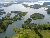 View from Guatape rock, Antioquia (Colombia) — Stock Photo