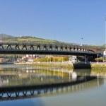 Постер, плакат: Euskalduna Bridge Bilbao Basque Country