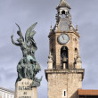 Virgen Blanca square, Vitoria-Gasteiz  Spain — Stock Photo
