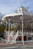 Music kiosk at Florida park, Vitoria-Gasteiz Basque Country — Stock Photo
