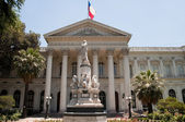 Ancient Chamber of Deputies, Santiago de Chile — Stock Photo