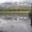 Lake at Kenai Peninsula, Alaska — Stock Photo #17681617