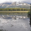 Lake at Kenai Peninsula, Alaska - Stock Photo