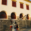 Caribbean Naval Museum, Cartagena De Indias (Colombia) - Stock Photo