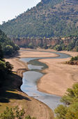 Jucar river, Serrania de Cuenca nature park (Spain) — Stock Photo