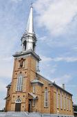 Church of St. Joseph, Carleton-sur-Mer, Quebec (Canada) — Stockfoto