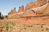 Park Avenue, Arches national park (Utah) — Stock Photo