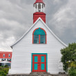 Tadoussac chapel (oldest canadian wooden church) — Stock Photo