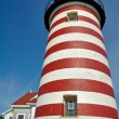 West Quoddy Head Lighthouse, Maine (USA) — Stock Photo #18059733