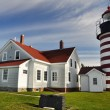 West Quoddy Head Lighthouse, Maine (USA) — Stock Photo #18059765