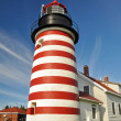 West Quoddy Head Lighthouse, Maine (USA) — Stock Photo #18059805