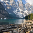 Stock Photo: Moraine Lake, Rocky Mountains (Canada)