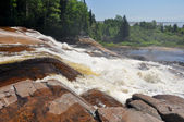 Waterfalls at North Shore, Quebec (Canada) — Stock Photo