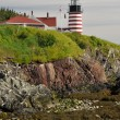 West Quoddy Head Lighthouse, Maine (USA) — Stock Photo #18060011