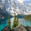 Royalty-Free Stock Photo: Moraine Lake, Rocky Mountains (Canada)