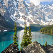 Moraine Lake, Rocky Mountains (Canada) — Stock Photo #18060075
