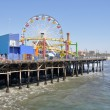 Santa Monica Pier, California - Stock Photo