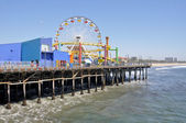 Santa Monica Pier, California — Stock Photo