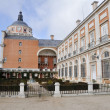 The Royal Palace of Aranjuez. Madrid (Spain) — Stock Photo #18935305