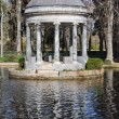 Royalty-Free Stock Photo: Chinescos pond, Prince\'s garden, Aranjuez (Madrid)