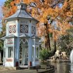 Chinescos pond, Prince's garden, Aranjuez (Madrid) — Stock Photo