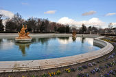 Ceres fountain at Parterre garden , Aranjuez (Madrid) — Stock Photo