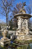 Narcissus Fountain, Prince's garden, Aranjuez (Madrid) — Foto Stock