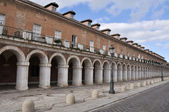 Colonnade in Casa de los Oficios palace, Aranjuez (Spain) — Stock Photo