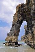 La playa de las catedrales, galicia (España) — Foto de Stock