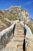 Path to San Juan de Gaztelugatxe (Spain) — Foto de Stock
