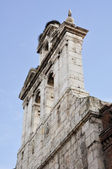 Bell tower of the chapel of San Ildefonso College. Alcala de Henares (Madrid) — Stockfoto