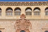 Archbishop's palace, Alcala de Henares, Madrid province (Spain) — Stock Photo