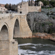 Bridge of San Martin, Toledo (Spain) — Stock Photo