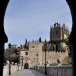 Bridge of San Martin, Toledo (Spain) — Stock Photo #19902195