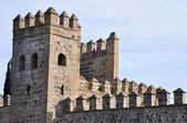 Wall of Toledo (Spain) — Stock Photo
