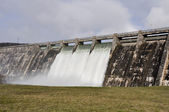 Dam over Zadorra river, Basque Country, Spain — Stock Photo