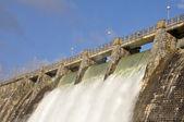 Dam over Zadorra river, Basque Country, Spain — Stock Photo