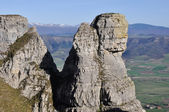 Fraile peak at Sierra Salvada (Spain) — Stock Photo