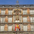 Architecture at Plaza Mayor (Main Square) in Madrid, Spain — Stock Photo