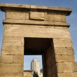 Debod temple, Madrid (Spain) — Stock Photo