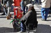 Scene from El Rastro flea market, Madrid (Spain) — Stock Photo