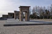 Debod tapınağı, madrid (i̇spanya) — Stok fotoğraf