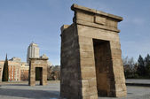 Debod temple, Madrid (Spain) — Foto de Stock