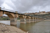 Bridge of Maderuelo, Segovia (Spain) — Stok fotoğraf