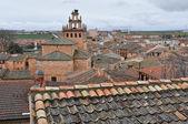 View of the village of Ayllon, Segovia (Spain) — Stock Photo