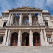 Ermoupolis Town Hall, Syros Island (Greece) — Stock Photo