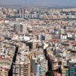 Panoramic view of Alicante (Spain) - Stock Photo
