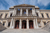Ermoupolis Town Hall, Syros Island (Greece) — 图库照片